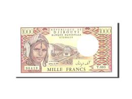 Djibouti, 1000 Francs, 1988, KM:37b, Undated, NEUF - Djibouti