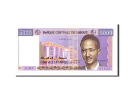 Djibouti, 5000 Francs, 2002, KM:44, Undated, NEUF - Djibouti