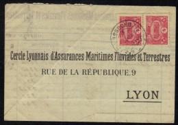 BROUSSE - BURSA - TURQUIE - TURKEY / 1913 LETTRE POUR LA FRANCE (ref 1419) - Covers & Documents