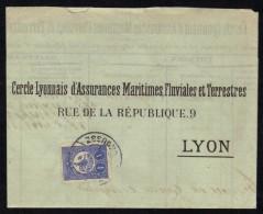 BROUSSE - BURSA - TURQUIE - TURKEY / 1912 LETTRE POUR LA FRANCE (ref 1392) - Covers & Documents