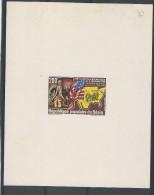 1982 - BENIN - EPREUVE DE LUXE  - THEME : WASHINGTON - - Benin - Dahomey (1960-...)