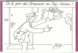 De La Part Des Cartophiles Du Pays Nantais  ! ..... ( Eliby) - Bolsas Y Salón Para Coleccionistas