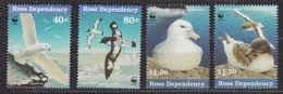 Ross Dependency 1997 Sea Birds WWF 4v  ** Mnh (26977A) - Ross Dependency (Nieuw-Zeeland)