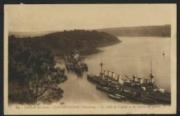 29 LANDEVENNEC - La Vallée De L'AULNE Et Les Navies De Guerre - Landévennec