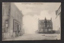 CPA. Dépt.50. COUTAINVLLE .  L'Entrée De La Plage . Magasin . - France