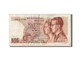 Belgique, 50 Francs, 1966, KM:139, 1966-05-16, TB - [ 6] Treasury