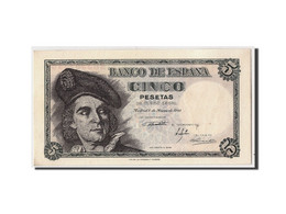 Espagne, 5 Pesetas, 1948, KM:136a, 1948-03-05, SPL - [ 3] 1936-1975 : Régence De Franco