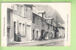 SECHILIENNE - Rue Principale : POSTE Et Caisse D' Epargne -  Beau Plan Animé - Peu Courant - BE - 2 Scans - France
