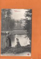 Scènes Champêtres - Au Bord De La Rivière - Folklore