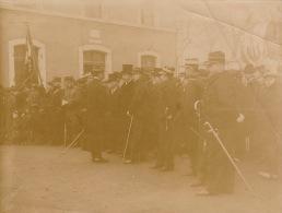 Photo Ancienne Militaire Bourg En Bresse - Guerre, Militaire