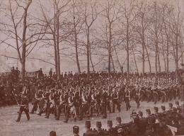 Photo Ancienne Militaire Uniforme Enterrement Du General Brault - Guerre, Militaire