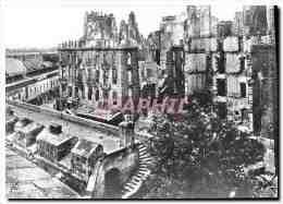 CPM Saint Malo Apres La Bataille De 1944 La Place Chateaubriand Militaria - Saint Malo