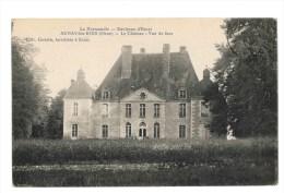 Aunay Les Bois - Le Chateau - Vue De Face - Environs D' Essai - France