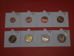 KMS  GERMANY - DEUTSCHLAN  MDINTMARK  A + D + F + G + J  (1 Cent  Bis 2 Euro X 5) 2005 UNC - Germany