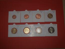 KMS  GERMANY - DEUTSCHLAND  MINTMARK  A + D + F + G + J  (1 Cent  Bis 2 Euro X 5) 2012 UNC - Germany