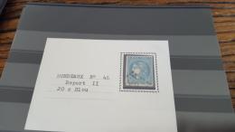 LOT 295863 TIMBRE DE FRANCE OBLITERE N�46B