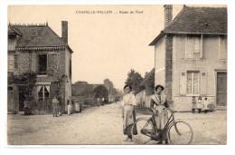 Aube : Chapelle-Vallon : Route De Voué - Romilly-sur-Seine