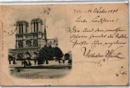 Paris - Notre Dame, Vue De Cote - Notre Dame De Paris