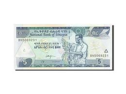 Éthiopie, 5 Birr, 1989, 2013, NEUF - Ethiopie