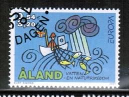 CEPT 2001 AX MI 191 USED ALAND - Europa-CEPT