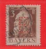 MiNr.6 D O Altdeutschland Bayern Dienstmarken - Bayern