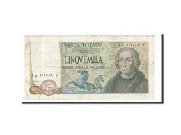Italie, 5000 Lire, 1977, KM:102c, 1977-11-10, TB+ - [ 2] 1946-… : République