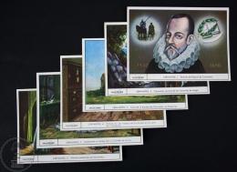 Set/ Collection Of 6 Trading Cards/ Chromos - Miguel De Cervantes - Chocolat