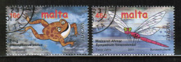 CEPT 2001 MT MI 1170-71 USED MALTA - Europa-CEPT