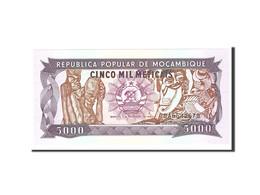 Mozambique, 5000 Meticais, 1989, 1989-02-03, KM:133b, NEUF - Mozambique