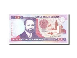 Mozambique, 5000 Meticais, 1991, 1991-06-16, KM:136, NEUF - Mozambique