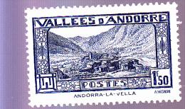ANDORRE : Andorre La Vieille : Y&T : 40* - Neufs