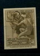 189 Roi Albert Pour Les Invalides De Guerre    American Banknote Cy   Gommé Sans Charnière   Tirage 200 Ex - Belgique