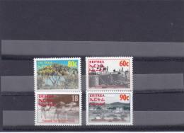 Stamps ERITREA 1995 SC 244-247 TO THE BRIGHT FUTURE MNH SET ER#4 LOOK - Eritrea