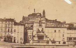 Photo Ancienne Cdv Le Puy En Velay - Lieux