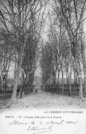 CPA à Dos Non Séparé - BRIVE (19) Grande Allée Place De La Guierie - 1905 - Brive La Gaillarde