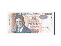 Mauritius, 1000 Rupees, 2001, Undated, KM:54b, NEUF - Maurice