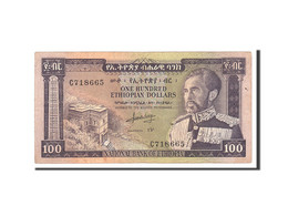 Éthiopie, 100 Dollars, 1966, Undated, KM:29a, TTB - Ethiopie