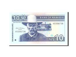 Namibia, 10 Namibia Dollars, 1993, Undated, KM:1a, NEUF - Namibie