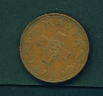 MALTA  -  1972  1c  Circulated Coin - Malta