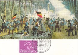 1961 150éme Anniversaire De L´ Indépendance De La Belgique - Bruxelles - Combats De Rue En 1830 - Geschiedenis