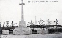 Essex Farm Cemetery, 49th Don Mémorial - Ieper