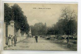 21 LUX Carte Rare  Route De La Gare Cycliste Et Animation écrite En 1915 Longuement      /D01-2016 - France