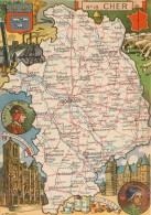 PINCHON - Année 1945 - Département Du Cher ( 18 ) - Bourges Sancerre St-Amand-Montrond La Guerche Châteaumeillant Baugy - Illustratori & Fotografie