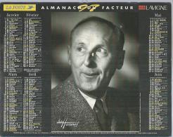 ALMANACH DU FACTEUR 1997 ( CALENDRIER ) BOURVIL / FERNANDEL ( Studio: HARCOURT ) - Calendriers