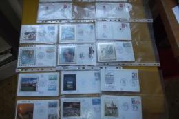 Gros Lot 180 Enveloppes 1er Jour Années 1959 à 1992 - Francobolli