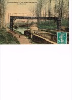 CPA AULNAY SOUS BOIS - CANAL DE L'OURCQ Avec Péniche - Aulnay Sous Bois