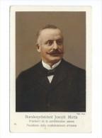 Bundespräsident Joseph Motta  Président De La Confédération Suisse - Personnages