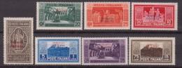 1927 SOMALIA MONTECASSINO 123/29 MNH - Somalia
