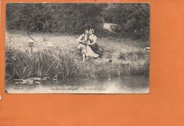 La Vie Aux Champs - Au Bord De L'étang (pêche à La Ligne) Série B - Agriculture
