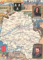 PINCHON - Année 1945 - Département De L´Indre-et-Loire ( 37 ) - Tours Loches Chinon Amboise Chenonceaux Langeais Ligueil - Illustratori & Fotografie